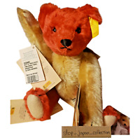 Steiff Plush Doll Germany Limited Edition Magnetic Click Bear 2004 Red Spanish
