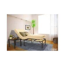 Adjustable Bed Frame Mattress Foam Head Foot Twin Memory Bedroom Furniture Adust