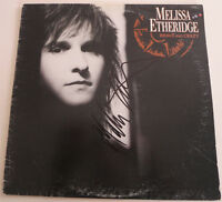 """MELISSA ETHERIDGE SIGNED BRAVE AND CRAZY ALBUM LP VINYL 12"""" EXACT PROOF"""