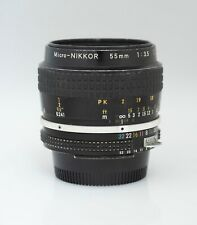 Micro Nikkor MF 55mm / 3.5 Ai ( for Nikon SLR camera's )