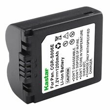 1x Kastar Battery for Panasonic Lumix CGA-S006 DMC-FZ7 DMC-FZ8