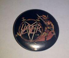 """Show No Mercy"" Vintage Original 1986 Slayer pinback button"