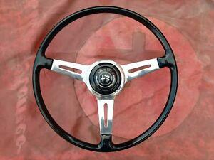 COMPATIBILE-VSTORE Compatible with Alfa Romeo Gold Logo 40 mm Steering Wheel 147 Giulia Giulietta Mito