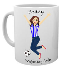 Sheffield Wednesday Crazy Lady Shirt Mug Mothers Day Gift