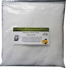 Citric Acid 2kg Descaler Bath Bombs Limescale Remover Kettle Descaling