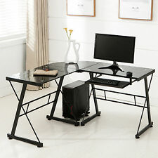 Glass Desks And Home Office Furniture Ebay