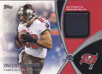 VINCENT JACKSON 2012 TOPPS PROLIFIC PLAYMAKERS RELICS #VJ JERSEY FB6149