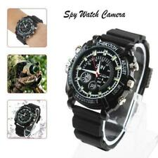 Full HD 1080P IR Night Vision 32gb Spy Camera Watch Audio Video Recorder Camera