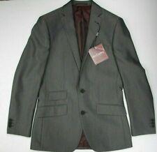 Men's McCarthy Grey 3pc Tailored Fit Suit (34R)..Sample 4151