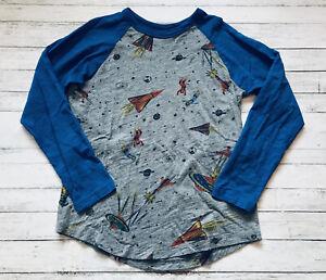 Hanna Andersson Space Raglan Shirt 140 Cm 10 Y