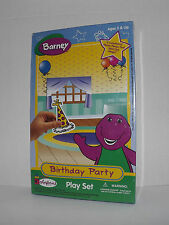 Barney Birthday Party Colorforms Play Set 1997 New Sealed Ages 3 & Up