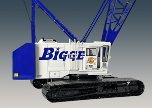 Manitowoc 4100W Crawler Crane - Bigge - Weiss Bros 1:50 Scale #WBR030-1206 New!