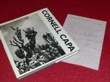 [PHOTOGRAPHIE] JAMES A. FOX (Ag. MAGNUM) CORNELL CAPA First 1992 + Lettre signée