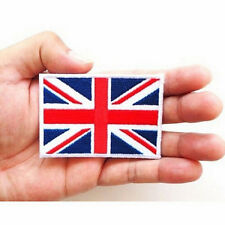 UK Flag Embroidered Iron/Sew On  Patch United Kingdom Badge Transfer 7x4.5cm LE