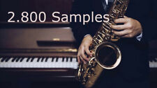 Jazz Samples Loops pack, 8.5GB HQ, Wav Libary pack FL Studio Ableton Logic Pro
