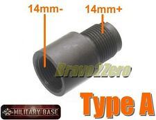 Barrel Adapter Extension CCW to CW 14mm- to 14mm+ for Airsoft AEG GBB TYPE A