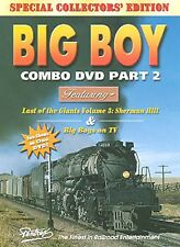 UNION PACIFIC BIG BOY COMBO PART 2 PENTREX DVD VIDEO