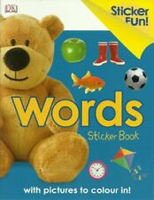 Sticker Fun Words, New, Collectif Book