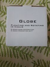 Globe Floating & Rotating in Midair
