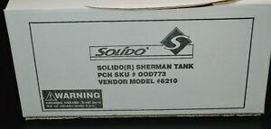 SolidoSherman Tank M4 A3 Diecast Model 6210 NIB Missing Decals