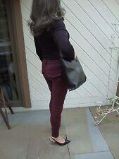 Francesco Biasia Black & Brown Tote Shoulder Bag Made in Italy