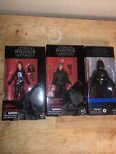 Hasbro C1417 Star Wars The Black Series Luke Skywalker, Jaina Solo, Darth Vader