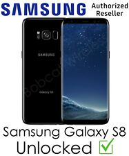 Samsung Galaxy S8 Black Factory Unlocked GSM + CDMA AT&T T-Mobile Sprint Verizon