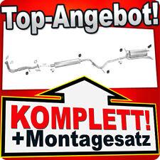 Auspuff FIAT PALIO 1.2 8V 54kW Weekend Kombi Auspuffanlage C79