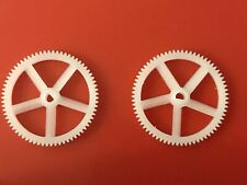 Nano CPX / CPS / S2 Main Gear - Delrin Gear Upgrade - 2 Pieces