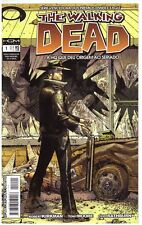 The Walking Dead 1 Brazilian Ed, Key 1st Issue First Print, Rick, Glenn, Kirkman