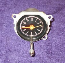 1967 1968 Mustang Fastback Coupe Convertible GT GTA Shelby ORIG DASH GAUGE CLOCK
