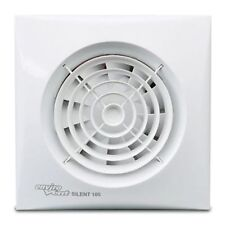 Envirovent SIL100T Silent 100mm White Extractor Fan for Bathroom or Toilet with