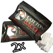 2x Cotton Bacon V2 Baumwollwatte Wick n Vape Bits Wickelwatte für Selbstwickler