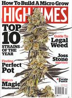 High Times  December 2017   Legal Weed   Magic Mushrooms   Top 10 Strains