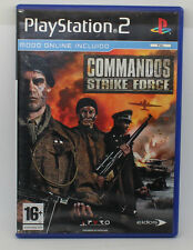 COMMANDOS STRIKE FORCE SONY PS2 PLAY STATION PS 2