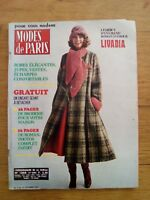 MODE DE PARIS N°1344 - 1974