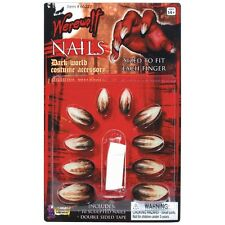 Werewolf Deluxe Nails Costume Appliance Adult Halloween