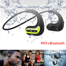 IPX8 Waterproof Bluetooth Headsets Wireless Headphones for Swimming MP3 Player