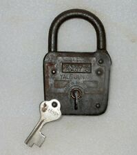 Vintage Old Collectible Rare Yale Junior 7275 Made In Germany Iron Pad Lock