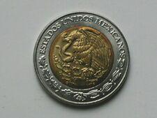 Mexico 2005 $5 PESOS Bimetallic Coin AU+ with Toned-Lustre