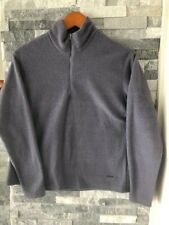 Women's PATAGONIA Capilene Pullover 1/4 Zip Fleece Jacket-Purple-Size Medium
