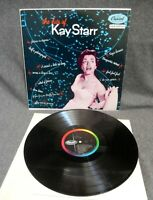 KAY STARR~The Hits Of Kay Starr~CAPITOL T-415