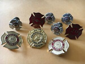9 Various Fire pin set service years