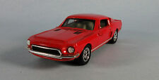 ERTL 1968 Shelby GT-500 Ford Mustang (Red) 1/43 Scale Diecast Model RARE!