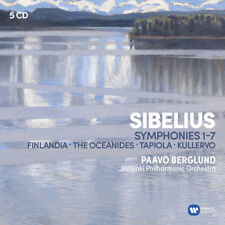 Paavo Berglund - Sibelius: Symphonies Kullervo Finlandia Tapiola [New CD]
