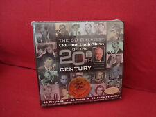 NEW SEALED THE 60 GREATEST OLD TIME RADIO SHOWS OF THE 20TH CENTURY 20CASSETTES