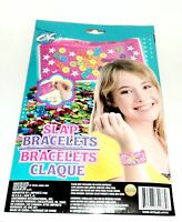 CK - Create Cool Slap Bracelets With Sparkling Glitter! NIP