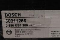 Bosch Solid Rear Brake Rotor 50011266