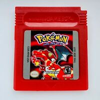Pokemon Red Version for GameBoy Color (GBC)