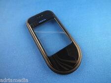 ORIGINALE Nokia 7370 7373 a COVER FRONTCOVER Custodia Cellulare Guscio superiore Marrone Brown